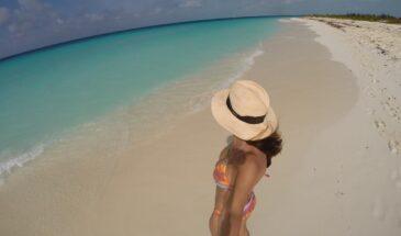 Cayo Lardo Playa beach