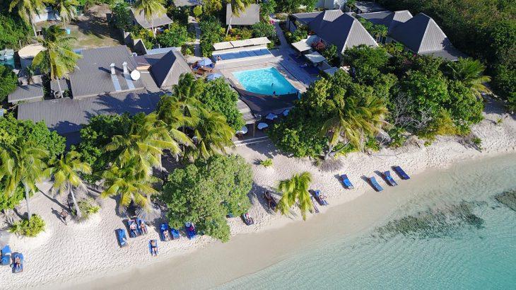 Blue lagoon em Fiji