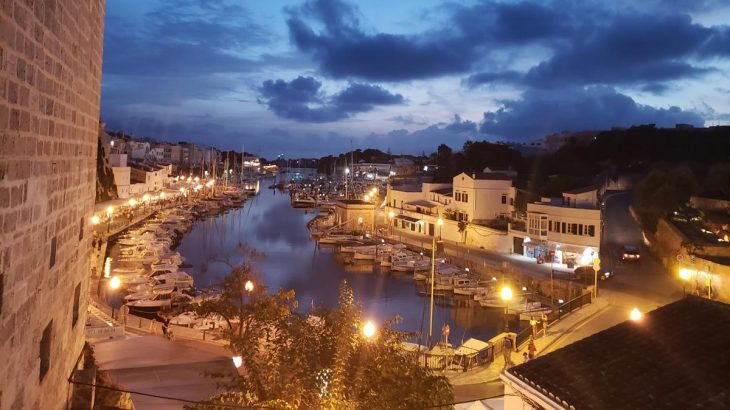 porto de ciutadella menorca