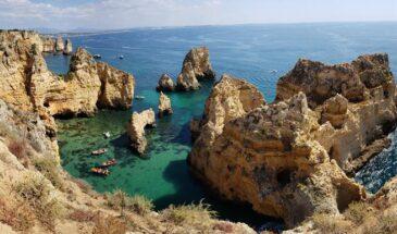 Como explorar a ponta da piedade no Algarve