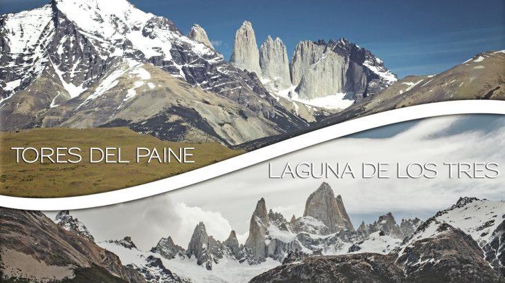 Laguna de los Tres e Torres del Paine